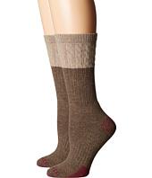 Carhartt - Merino Wool Blend Textured Crew Socks 2-Pair Pack