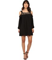 Brigitte Bailey - Tillie Crochet Trim Cold Shoulder Dress