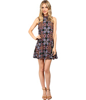 Brigitte Bailey - Tessie Mock Neck Printed Dress