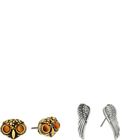 Lucky Brand - Owl Stud Earrings Set