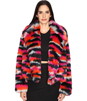 McQ - Cropped Fur Jacket