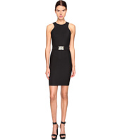 Versace Jeans - Sleeveless Belted Dress