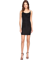 Versace Jeans - Drape Neck Sleeveless Dress