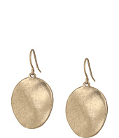 The Sak - Wavy Disc Drop Earrings