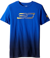 Under Armour Kids - Steph Curry 30 Player Fade Short Sleeve Tee (Big Kids)