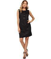 Christin Michaels - Decatur Suede Dress