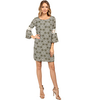 Christin Michaels - Lexington Crochet Sleeve Dress