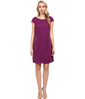 Christin Michaels - Sarah Cap Sleeve Shift Dress