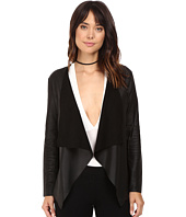 BB Dakota - Derby Drapey Leather Jacket