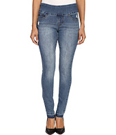 Jag Jeans Petite - Petite Nora Pull-On Skinny in Comfort Denim in Weathered Blue