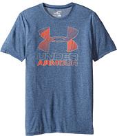 Under Armour Kids - Big Logo Hybrid 2.0 Short Sleeve Tee (Big Kids)