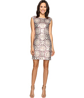 rsvp - Pleasant Pattern Dress w/ Sequin
