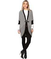 Brigitte Bailey - Swiss Cut Cocoon Buckle Cardigan