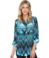 Christin Michaels - Aniseed Print Top