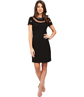 Donna Morgan - Short Sleeve A-Line Dress
