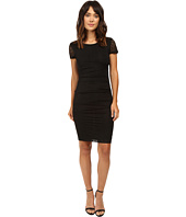 Nicole Miller - Brunout Jersey Short Sleeve Dress