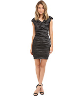 Nicole Miller - Beckette Techno Cap Sleeve Dress