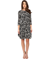 Donna Morgan - 3/4 Sleeve A-Line Dress