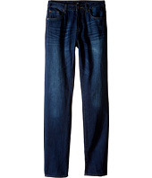 7 For All Mankind Kids - Slimmy Slim Straight Foolproof Jeans in Commotion (Big Kids)