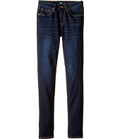 7 For All Mankind Kids - The Skinny Stretch Denim Jeans in Tired and True (Big Kids)