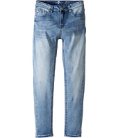 7 For All Mankind Kids - The Ankle Skinny Five-Pocket Stretch Denim Jeans in Light Blue (Big Kids)