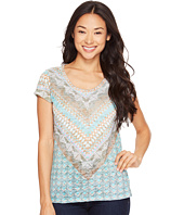 Prana - Short Sleeve Portfolio Crew Neck Top