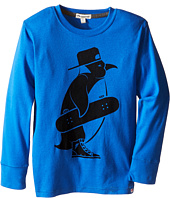 Appaman Kids - Long Sleeve Skater Penguin Tee (Toddler/Little Kids/Big Kids)