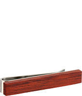 Cufflinks Inc. - Rosewood Stainless Steel Tie Bar