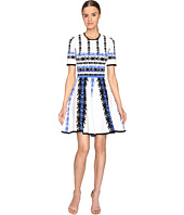YIGAL AZROUËL - Jacquard Knit Fit and Flare Dress