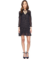 Just Cavalli - 3/4 Sleeve Pois Print Dress