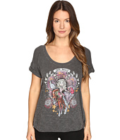 Just Cavalli - Dolly Parton Short Sleeve Scoop Neck T-Shirt