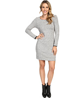 Nally & Millie - Long Sleeve Brushed Sweater Reversible Dress