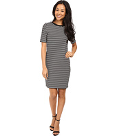 MICHAEL Michael Kors - Turner Stripe Crew Neck Dress