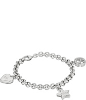 Gucci - Trademark Bracelet w/ Heart, Star and Interlocking G Charms