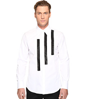 DSQUARED2 - Leather Rouches Button Up