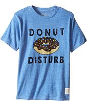 The Original Retro Brand Kids - Donut Disturb Short Sleeve Tri-Blend Tee (Little Kids/Big Kids)