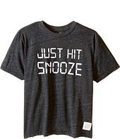The Original Retro Brand Kids - Just Hit Snooze Tri-Blend Short Sleeve Tee (Little Kids/Big Kids)