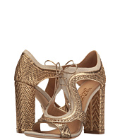 Salvatore Ferragamo - Nappa Interwoven High-Heel Sandal