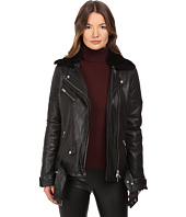 LAMARQUE - Alura Bike Jacket w/ Removable Shearling Collar