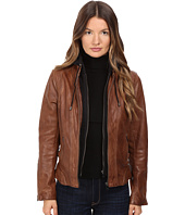 LAMARQUE - Arlette Moto Jacket with Removable Hoodie