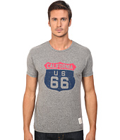 The Original Retro Brand - Short Sleeve Tri-Blend Route 66 Tee