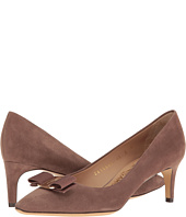Salvatore Ferragamo - Leather Mid-Heel Pump