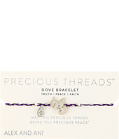 Alex and Ani - Precious Threads Dove Inky Purple Braid