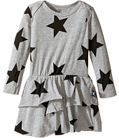 Nununu - Super Soft Star Print Dress with One-Piece Skirt (Infant)