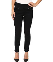 Jag Jeans Petite - Petite Amelia Pull-On Ankle in Comfort Denim in Black Void
