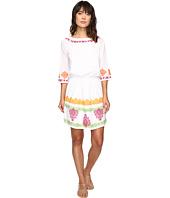 Tommy Bahama - Embroidered Gauze Short Dress