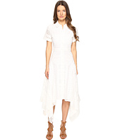 Prabal Gurung - Short Sleeve Handkerchief Hem Dress