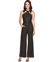 Tahari by ASL - Sparkle Halterneck Jumpsuit with Stretch