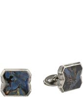 Stephen Webster - Tobacco Leaf Stone Inlay Cufflinks