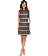 Jessica Simpson - Bonded Stripe Lace Dress